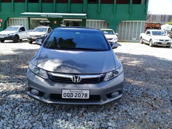 Honda Civic 2014 Completo Com Procedência