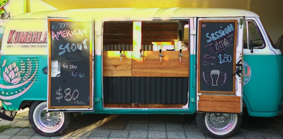 Beer Truck - Kombi Vw Original - Lista Para Trabajar!!!