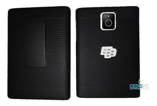 Funda Clip Holster Case Sencillo Blackberry Q30 / Passport