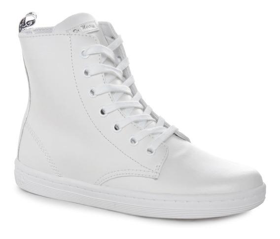 Zapatillas Botas Dr Martens Leyton Cuero Mujer Importadas