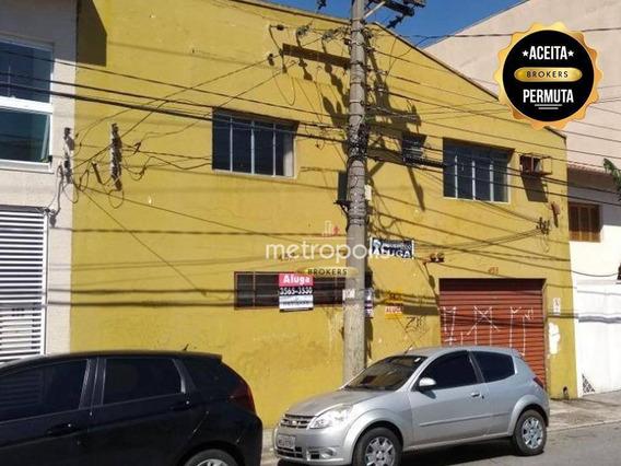 Galpão Comercial Para Venda E Locação, Santa Maria, São Caetano Do Sul. - Ga0003