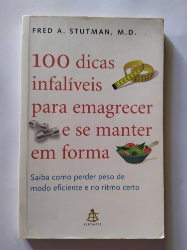 Livro - 100 Dicas Infalíveis Para Emagrecer