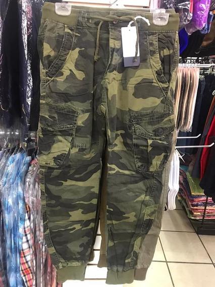 Pantalon Jogger Roosevelt Militar / Camuflaje