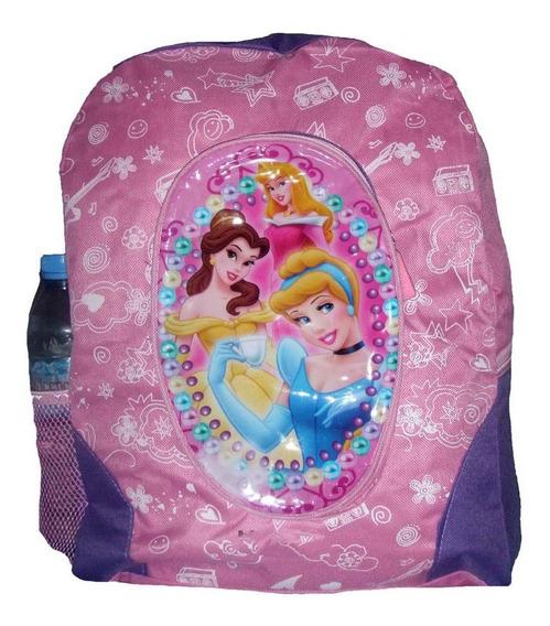 Mochila Infantil Princesas 42 X 31 X 11 Cm. Muy Practica