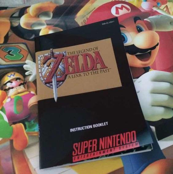 Manual Zelda Repro + Mapa