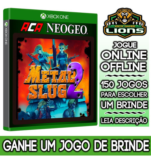 Aca Neogeo Metal Slug 2 Xbox One + Brinde