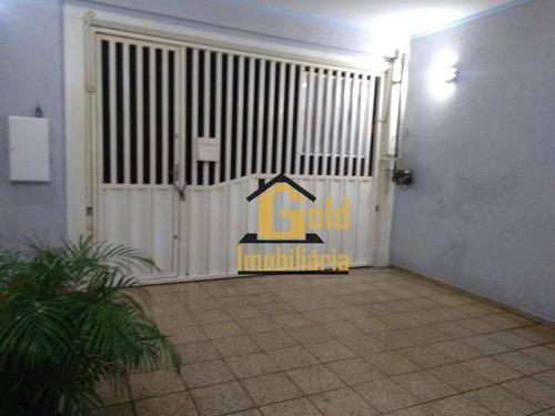 Casa Com 3 Dormitórios À Venda, 94 M² Por R$ 193.000,00 - Parque São Sebastião - Ribeirão Preto/sp - Ca0628