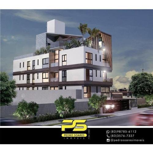 Apartamento Com 2 Dormitórios À Venda, 52 M² Por R$ 269.000 - Bancários - João Pessoa/pb - Ap4401