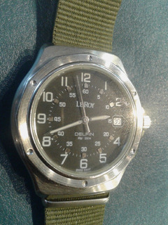 Reloj Leroy Le Roy Delfin Diver 200 Mts 40 Mm Funcionando