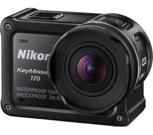 Câmera De Ação Nikon Keymission 170 Utra Hd 4k Impermeavel