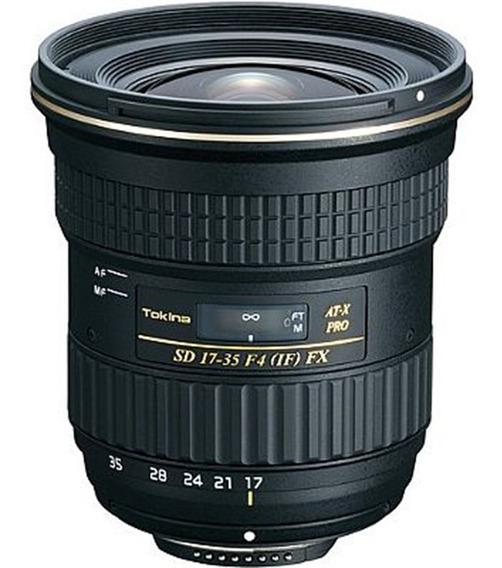 Objetiva Tokina 17-35mm Fx Af Pro Para Nikon Full Frame