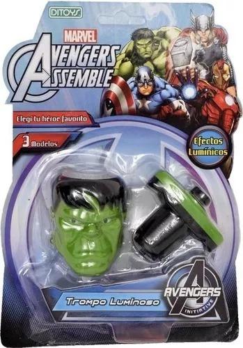 Trompo Luminoso Avengers Ditoys