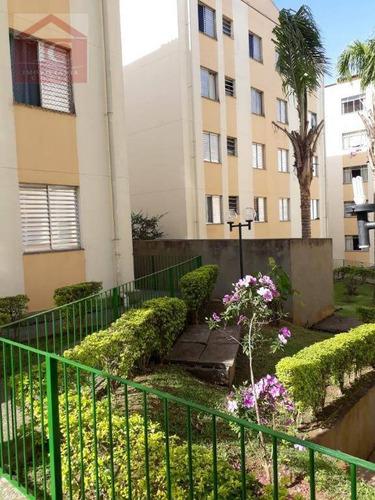 Apartamento Com 2 Dormitórios À Venda, 52 M² Por R$ 190.000,00 - Portão - Cotia/sp - Ap0346