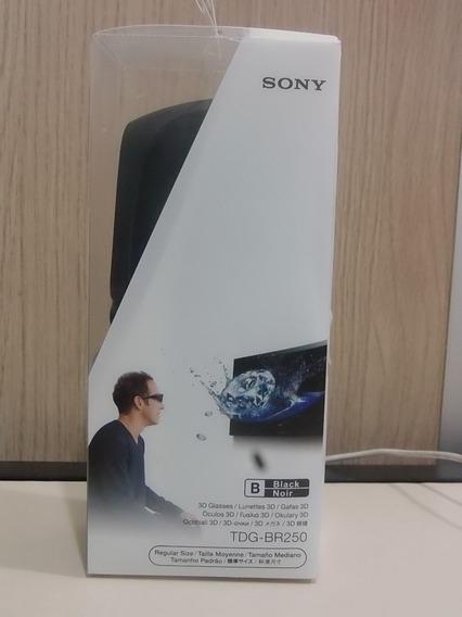 3d Glasses - Sony Smart Tv - Tdg-br250 - Completo Oculos