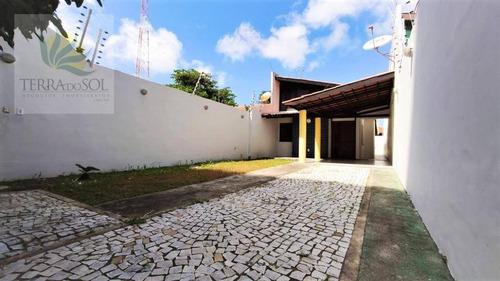 Imagem 1 de 21 de Casa Plana Com 3 Quartos E 3 Vagas, Próximo A Av. Washington Soares. - Ca1045