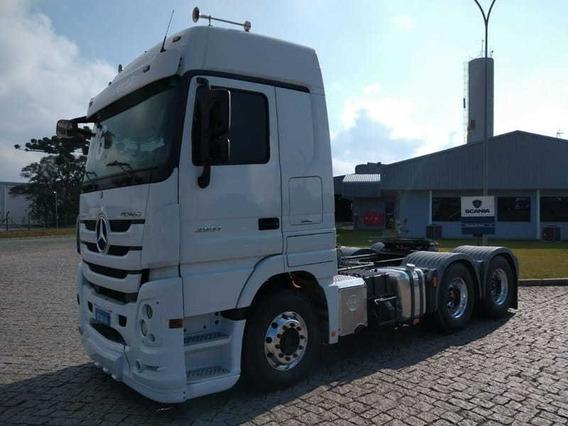 Mb Actros 2651 Megaspace, 6x4, 2016 Scania Seminovos Pr