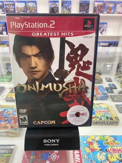 Onimusha Warlords Original Completo Americano Playstation 2