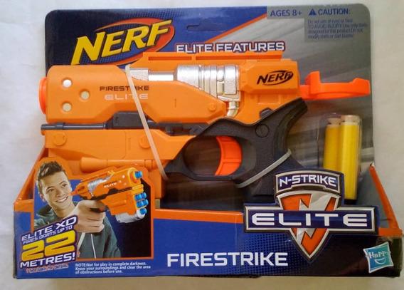 Pistola Nerf Tres Dardos Firestrike