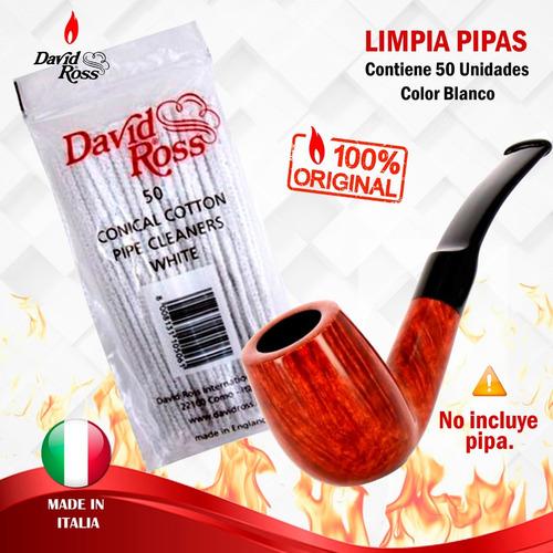 Limpia Pipas X50-unidades.  David Ross.  Entrega Banimported