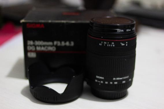 Lente 28-300 Sigma F3.5-6.3 Dg Macro