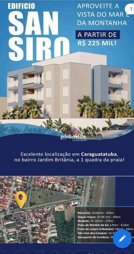 Imagem 1 de 14 de Apartamento Com 2 Dormitórios À Venda, 60 M² Por R$ 359.000,00 - Jardim Britânia - Caraguatatuba/sp - Ap13722
