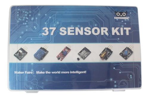Kit 37 Sensores Para Arduino  Con Tutorial