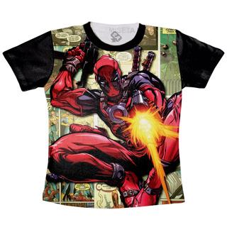 Camiseta Deadpool Marvel Hq