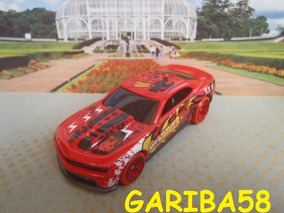R$18 No Lote Hot Wheels ´12 Camaro Zl1 2013 Garage Gariba58