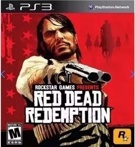 Jogo Ps3 Red Dead Redemption Play 3 Envio Na Hora!!!