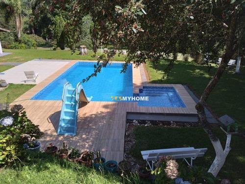 Chácara Com 3 Dormitórios À Venda, 62732 M² Por R$ 1.900.000 - Campo Largo/pr - Ch0003