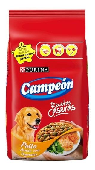 Alimento Campeón Recetas Caseras perro adulto todos los tamaños pollo/vegetales 25kg