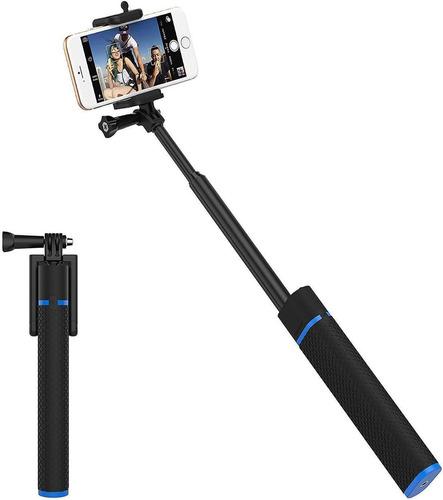 Palo De Selfie Extensible De Teléfono + Cargador Y Bluetooth