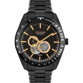 Relógio Masculino Technos Automático 82s7ac/4p Tourbillon