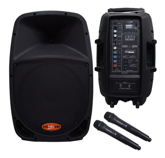 Caixa Ativa Ll Audio Dr12 Bateria 12v 160wrms Ultima Peça