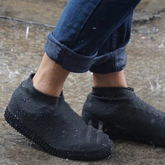 Meia De Chuva P/ Sapato Tênis Impermeável Adulto - Infantil