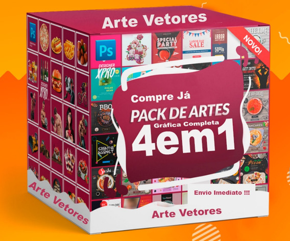 Pack Vetores Imagens Para Corel Draw Photoshop + Fontes