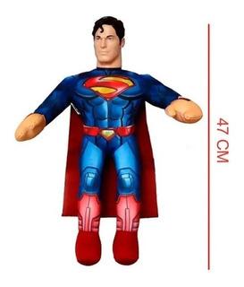 Superman Muñeco Soft Liga De La Justicia 47 Cm S/sonido Edu