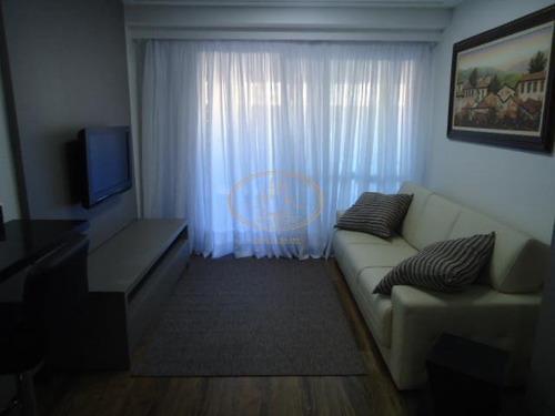 Apartamento  Com 1 Dormitório(s) Localizado(a) No Bairro Gonzaga Em Santos / Santos  - 5705