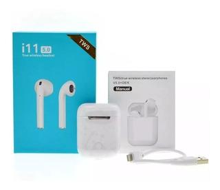 Audífonos AirPods I11 Tws Para iPhone & Android+box De Carga