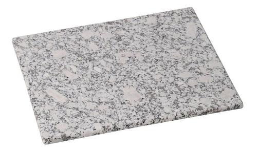 Tabla Rectangular En Granito Blanco  30x20x1.5 Cm