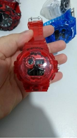Relógios Pulseira Transparente G-shock