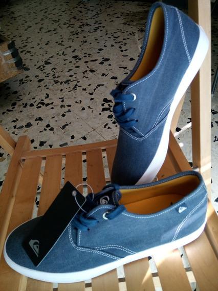 Zapatos Quiksilver De Goma De Caballero Azules 10 - 43