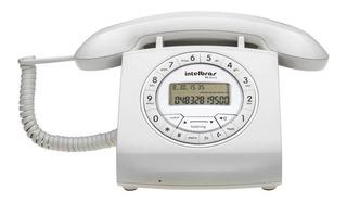 Telefone fixo Intelbras TC 8312 branco