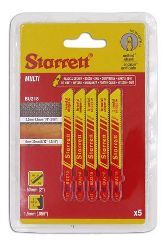 Hoja De Sierra De Calar Multi Starrett X5