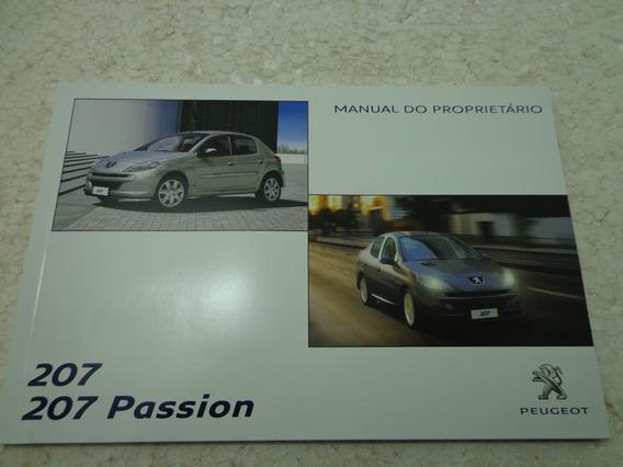 Manual Do Proprietário Original Peugeot 207 Frete Grátis