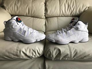 Tenis Air Jordan Six Rings Confeti Del 31mx