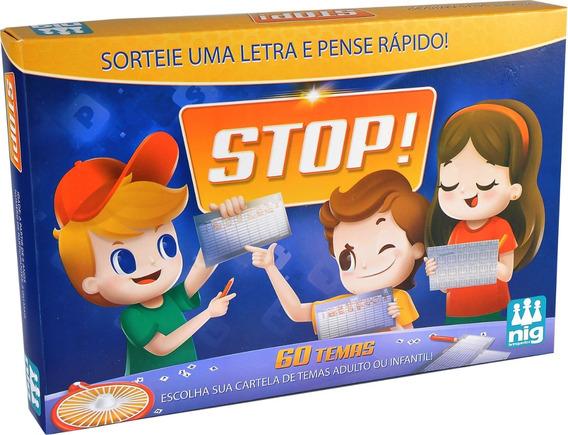 Jogo Stop Pense Rápido Com Roleta - Nig