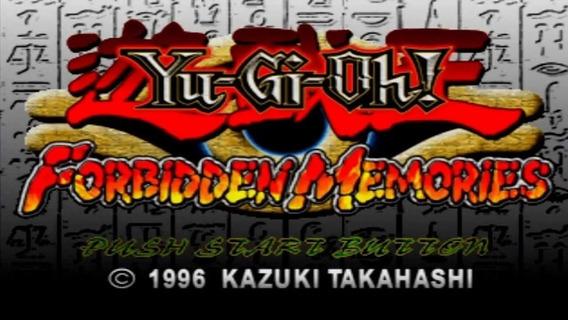 Jogo Yu-gi-oh! Forbidden Memories Para Pc Envio Imediato