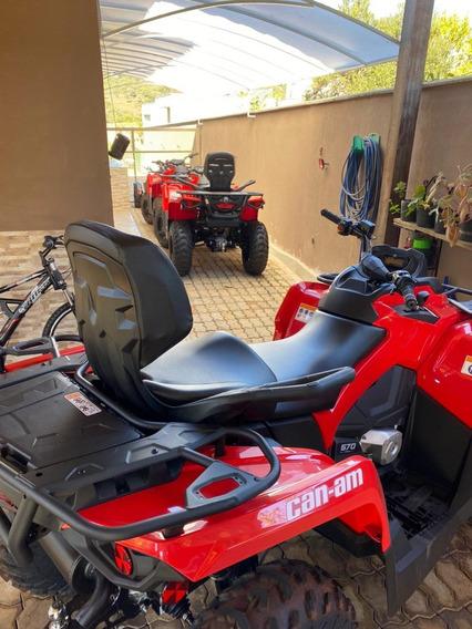 Quadriciclo Can-am Outlander 570 Cc Max 2020 4x4