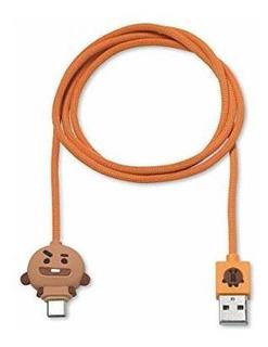 Linea Amigos Bt21 Cable De Carga Usbc A Usba 358 En Compatib